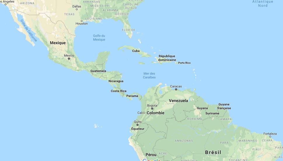 Pays D Amerique La Liste Complete Avec Nombre D Habitant