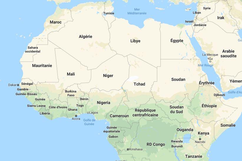 Pays D Afrique La Liste Complete Avec Nombre D Habitant