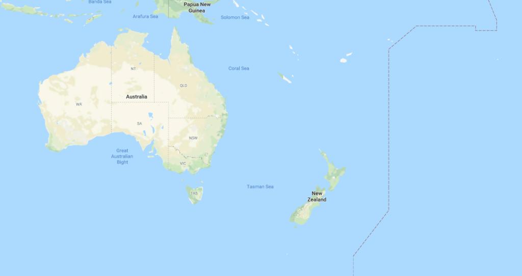 Océanie population
