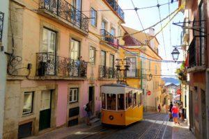 Lisbonne, Coloré, Centre Ville, Portugal, Métropole
